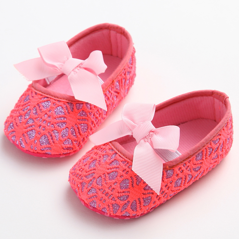 Cute Princess Infant Girl Shoes With Bowknot lovely Childrens Footwear Baby Girls Newborn Toddler Soft Soled Shoes Zapatos Nina