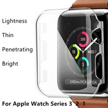 Watch Cover for Apple iWatch Soft Case 42mm 38mm 40mm 44mm Series 4 3 2 1 Soft Slim TPU All-around Ultra-thin Screen Protector tanix tx3 mini smart android tv box 1gb 8gb android 7 1 s905w quad core cpu 2 4ghz wifi support 4k media player setp top box