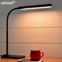 AIFENG Eye usb powered led light for table Stepless dimming flexible metal gooseneck desk lamp table lamp for study