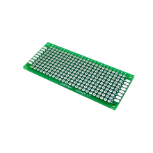 Double Side Prototype PCB diy Universal Printed Circuit Board 3x7cm test board(China (Mainland))