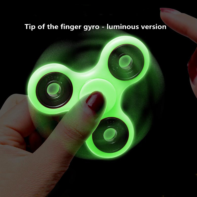 Luminous Fidget Hand Spinner Light in Dark