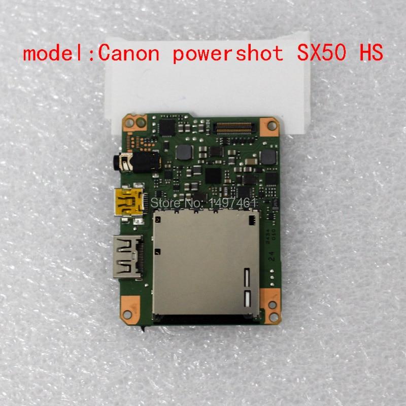 Pièces de réparation principales de carte mère/carte mère/carte PCB pour Canon PowerShot SX50 HS; caméra PC1817