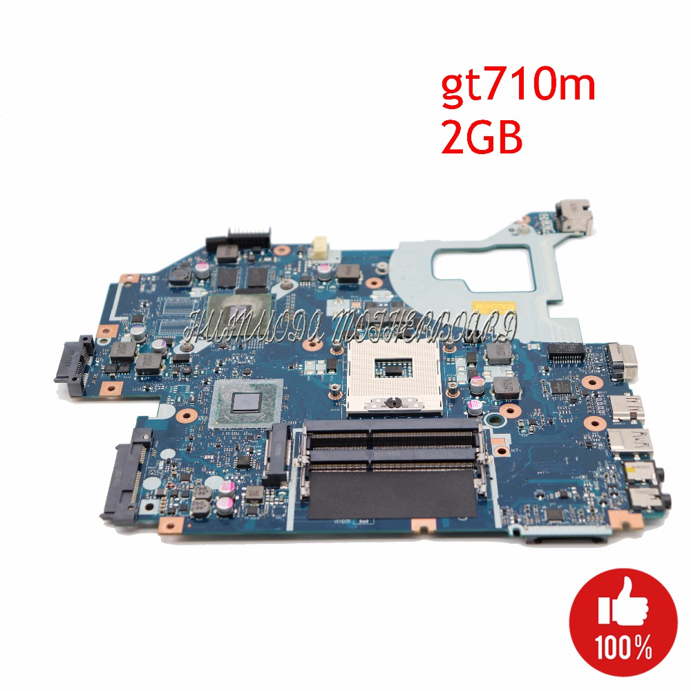 NOKOTION laptop motherboard for ACER Aspire E1-571G V3-571G V3-571 NBM6B11001 Q5WV1 LA-7912P GT710M 2G HM77 PGA989 DDR3 WORKS