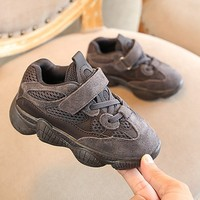 2019 New children shoes boys sneakers girls sport shoes size 21 37 child leisure trainers casual breathable kids running shoes