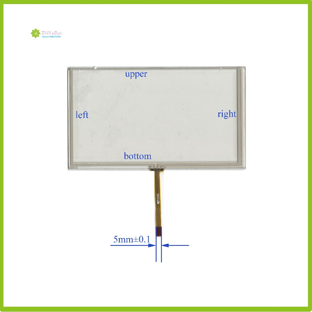 ZhiYuSun  For Roadrover A22657R 6.5inch 4Wire Resistive TouchScreen Panel Digitizer Glass  HST-TPA6.5H