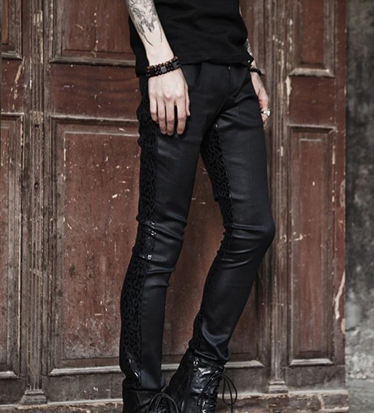 Skinny Biker Jeans Mens