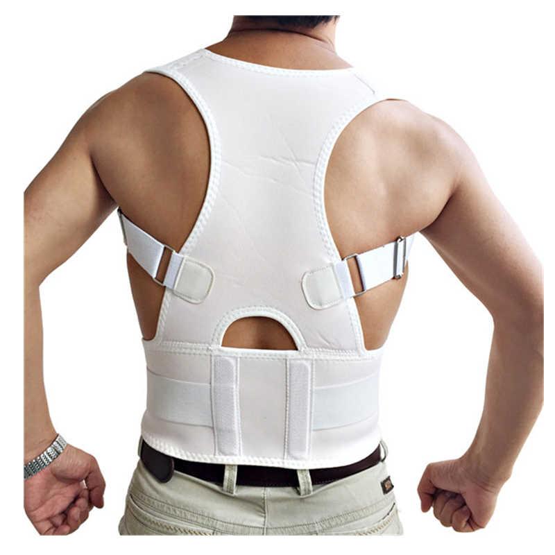Postura corrector ombro dor nas costas alívio da coluna straightener ortopédico cinta cinto em linha reta espartilho para apoio traseiro