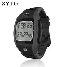 KYTO Präzision Tennis Scoring Und Herzfrequenz Monitor Uhr Wecker Kalorien Zähler Stoppuhr Smartwatch Smart Uhr
