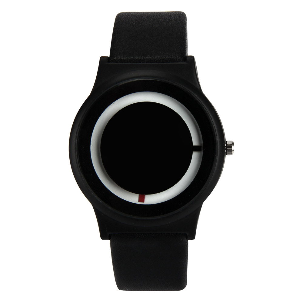 Splendid 2016 men creative black silicone strap Famous Brand KANISHI Men Women Band Analog Quartz Business Wrist Watch fashion men women lovers clocks silicone band black big dial quartz analog wrist watch creative apr22