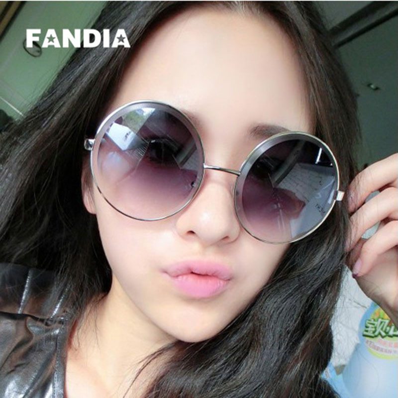 9786f0a8c HOT SEL Fandia brand Diamond cutting style ladies sunglasses Fashion  personality women spectacles Super large round sunglasses12-in Sunglasses  from Apparel ...