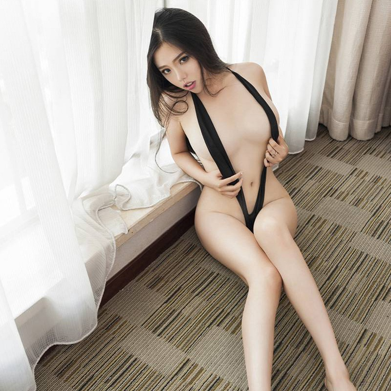 Sexy Lingerie Women Babydoll Sex Products Cotton Solid  Sexy Erotic Lingerie Sexy Underwear Sex Costume Three Point GC069