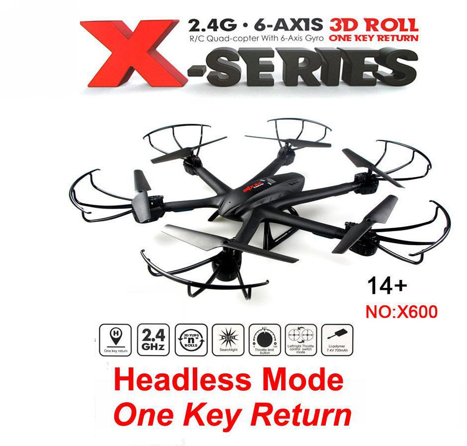 Ewellsold X600 2.4G 6-axis RC quadcopter RC drone with C4015 FPV HD camera free shipping