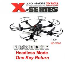 MJX X600 2.4G 6-axis RC quadcopter RC drone with C4015 FPV HD camera free shipping
