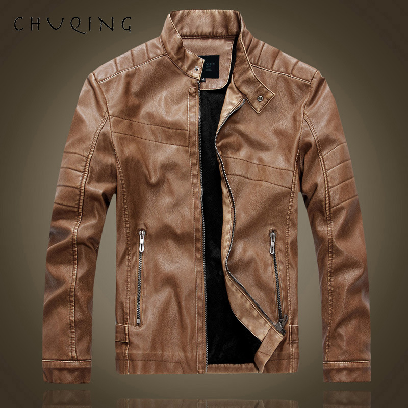 CHUQING Men 39 s Leather Machine Model Men 39 s Leather Jacket Jacket Men 39 s Casual Leather Clothing in Men 39 s Sets from Men 39 s Clothing