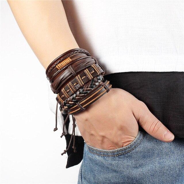 Купить браслет ручной работы janeyacy в стиле панк для мужчин и женщин