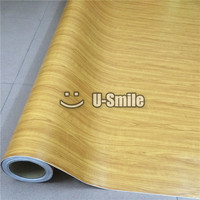 Wood Grain Vinyl Film Wood Vinyl Car Wrap For Auto Interior Furniture Wall Size 1 52X20m