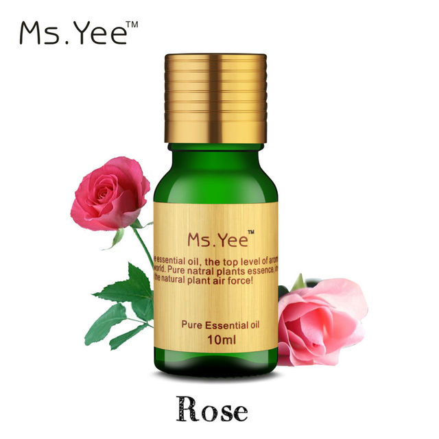 100% Pure Rose Oil for Skin Care Moisturizer Natural Plant Aromatherapy Essential Oils for Diffusers Humidifier Fragrance Lamp