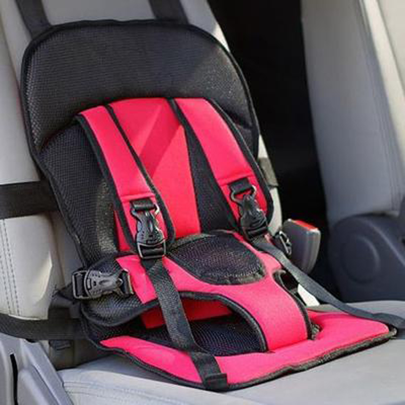 Child Baby Car Seat Portable Safey Seats Toddler Kids Car Chair 3 Point Safety Harness For