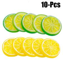 Artificial Fruits Lifelike Realistic Slices Fake Decorative For Party Kitchen