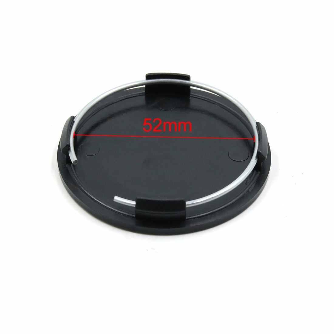 4 قطعة أسود 63 مللي متر القطر عجلة غطاء عجلة مركزي أنيق الصلب ارتداء استبدال غطاء غبار السيارات غطاء محور ل سيارة السيارات