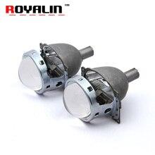 ROYALIN Q5 Lente del Xenón Del Bi 3.0 Proyector de la Linterna Del Coche Kit con HID 21mm Bombillas Para Auto H1 H4 H7 9005/HB3 9006/HB4 Luces Retrofit