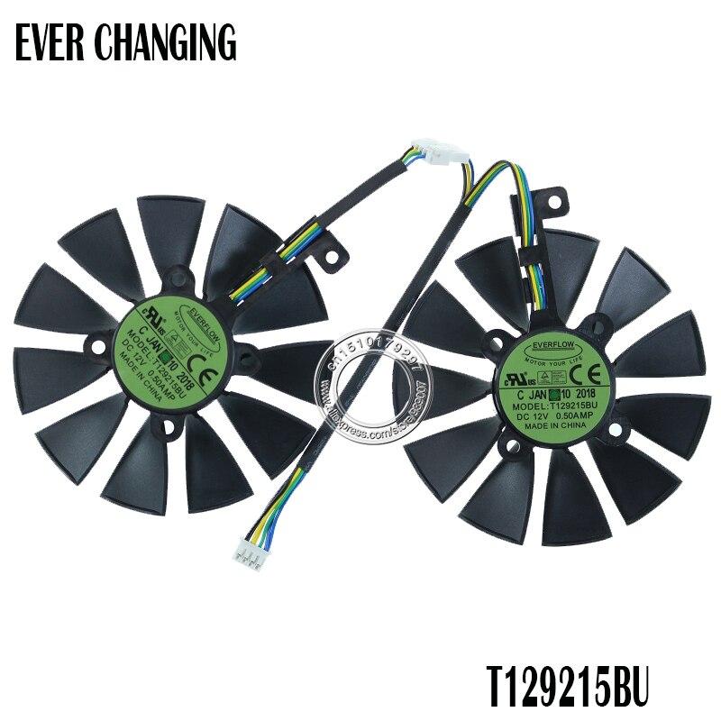 87 мм T129215BU T129215SU Графика карты вентилятор для ASUS ROG STRIX двойной GTX 1070 GTX 1060/RX 470/570/580 RX570 RX580 RTX2060