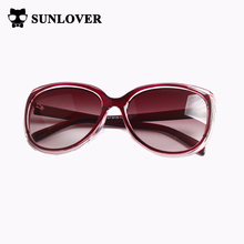 SUNLOVER 2017 New Fashion Vintage Sunglasses Women Elegant Sun Glasses UV400 Oval Round Eyewear