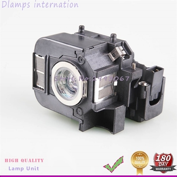цена на High Quality ELPL50 V13H010L50 Projector Lamp with Cage For Powerlite 85, 825, 826W, EB-824, EB-824H, EB-825H 180 Days Warranty