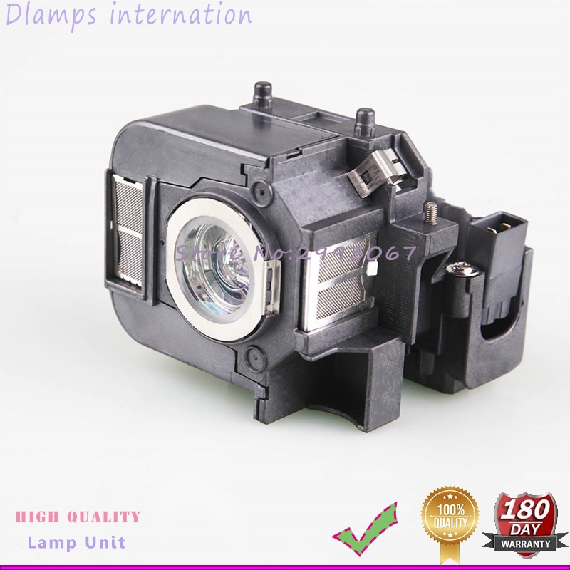 High Quality ELPLP50 Projector Lamp with Cage For Powerlite 85, 825, 826W, EB-824, EB-824H, EB-825H With 180 Days Warranty free shipping brand new replacement lamp with housing elplp50 for eb 824 eb 825 eb 826w eb 84 eb 85 projector 3pcs lot