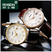 ROSDN 2016 Mechanical Stainless Steel Watch Mens Waterproof Watches Fashion Brand Luxury Watch Men Watches Top