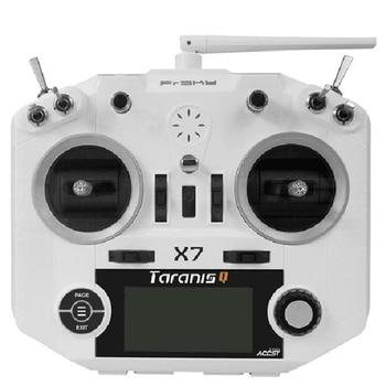 Transmisor FrSky ACCST Taranis Q X7 QX7 de 2,4 GHz, 16 canales, color blanco/negro