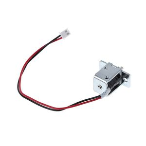Image 2 - DC 12V 0.5A Mini Electric Magnetic Cabinet Bolt Push Pull Lock Release Assembly Solenoid Access Control