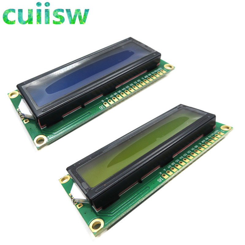 Cuiisw 1PCS LCD1602 1602 Screen 16x2 Character LCD Display