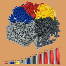 500G/Lot Technic Liftarm Beam Axle Connector 1x1-1x16 Bricks with 1-15 Holes Compatible with l*go Technic MOC Parts Toys 500g lot gmp