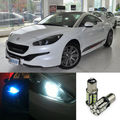 2pcs Advanced LED Width Lamps Car Wedge Warning Light Bulb For Peugeot RCZ