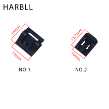 ФОТО harbll 10pcs car console navigation panel cd dvd metal iron fastener for honda civic accord
