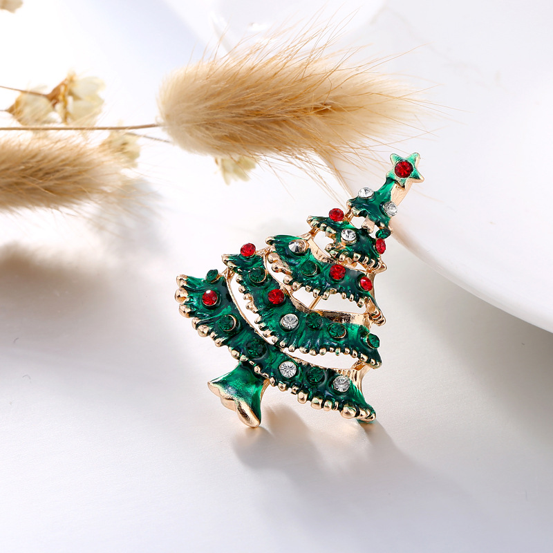 ZOTOONE Small Cute Cheap Christmas Tree Badge For Clothes ...