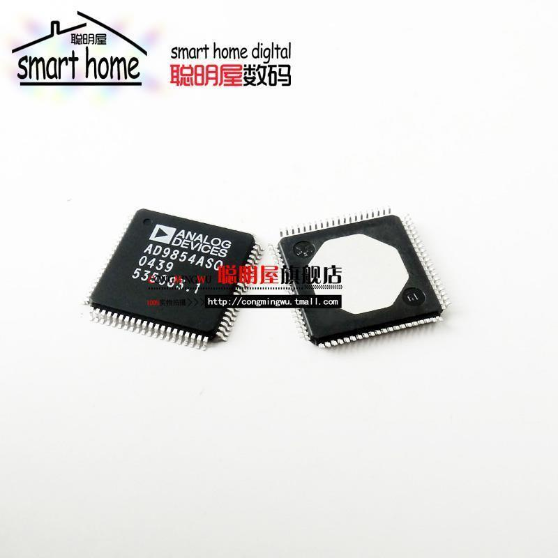 ФОТО Free shipping AD9854ASQ  AD9854 QFP80 clock and timing