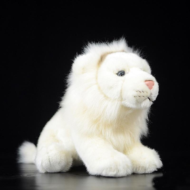 26CM Simulation White Lion Toys & Hobbies Soft Stuffed Animal children Girls Dolls & Stuffed Toys Stuffed Plush Animal Toy