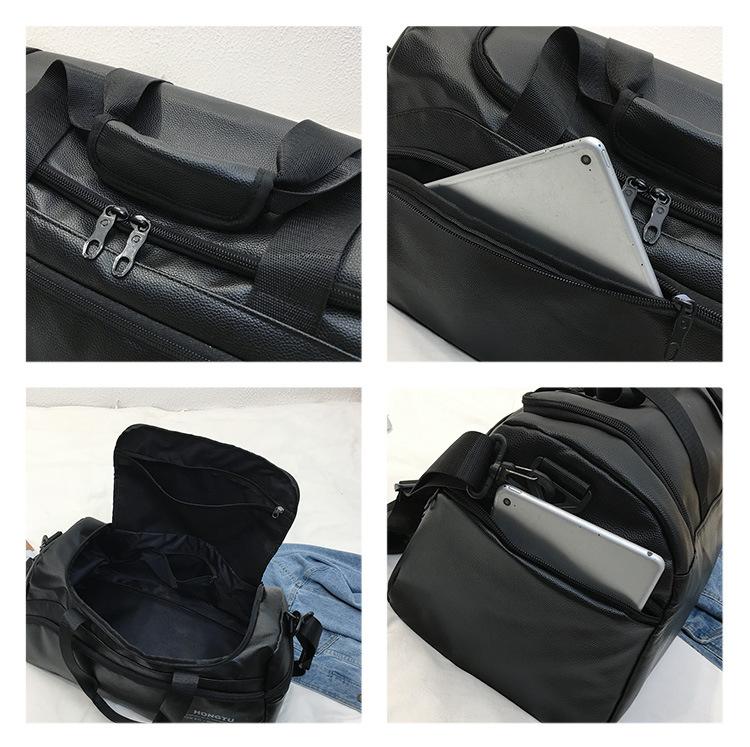 duffle Black LOVMODNLIFE handbags 11