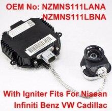 1 sztuk 12V 35W D2R D2S OEM ukrył ksenonowe statecznik reflektora zapłonnik jednostka sterująca NZMNS111LBNA NZMNS111LANA dla Nissan Infiniti Benz VW