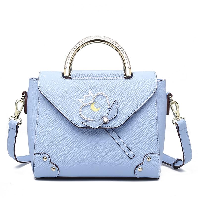 Aotian new bag women fashion bag high quality Casual handbag shoulder blue bag women  Aotian new bag women fashion bag high quality Casual handbag shoulder blue bag women