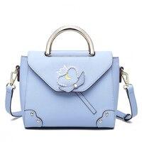 Aotian new bag women fashion bag high quality Casual handbag shoulder blue bag women