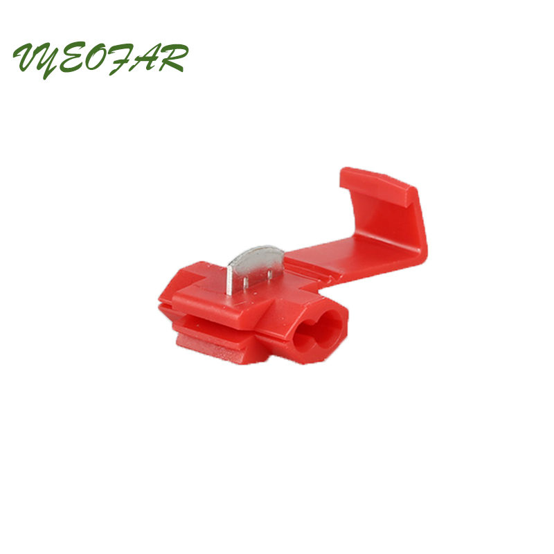 30pc Electric Wire Spade Terminals Splice Crimp Terminal Wire Connector 10-22 AWG Gauge 0.5mm-6mm Wire range Home improvement