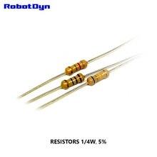 Resistor 470K Ohm, 1/4W, 5%, DIP (TH) (pack 100 PCS)