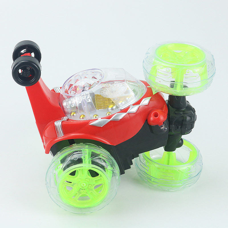 Image 5 - Electric Mini RC Car Radio Controlled Stunt Cars Model Flashing Light Music 360 Degree Drift Rotating Tumbling Vehicle Kids Toys-in RC Cars from Toys & Hobbies