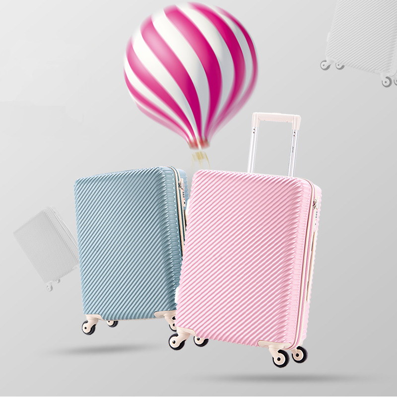 Trolley luggage luggage female 20 ultra-light small fresh password box travel bag 24 universal wheels,fashion girl travel luggag trolley luggage 24 universal wheels travel luggage bag 20 doodle small 16 luggage high quality female cartoon travel luggage