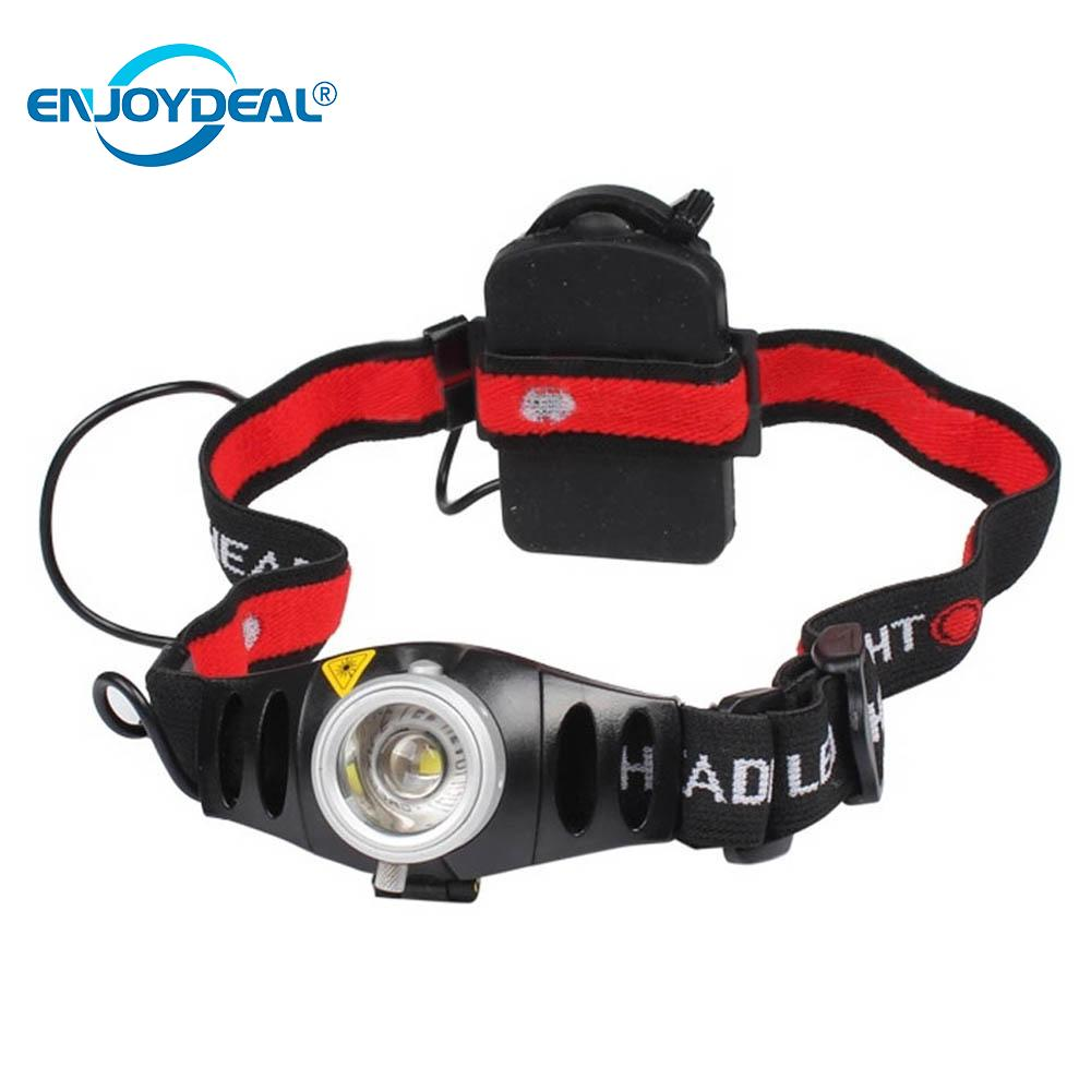 LED Head Light Head Lamp Rechargeable Adjustable 2000LM Focus Q5 LED Headlamp Head Light Torch for camping fishing hiking