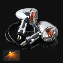 2X Clear Turn Signals For SUZUKI Boulevard M109R VRZ1800 2006 2013