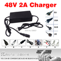 Free Shipping 48V 2A Charger Used For 48V Electric Bicycle Battery Charge 54.6V 2a lithium battery charger 48v2a charger